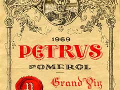 Petrus french wine